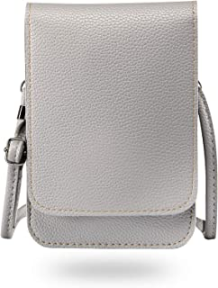Elegant Cellphone Bag for Women, Techcircle Touch Screen Crossbody Purse with [Adjustable Shoulder Strap][Clear Phone Wind...
