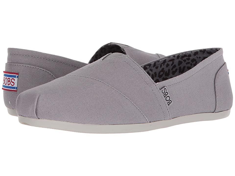 BOBS from SKECHERS Bobs Plush Peace and Love (Gray) Women