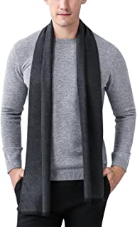 Panegy Men's Classic Cashmere Long Scarf Soft Warm Winter Scarves 70inch/180cm Long, 26 Patterns,Classic&Casual