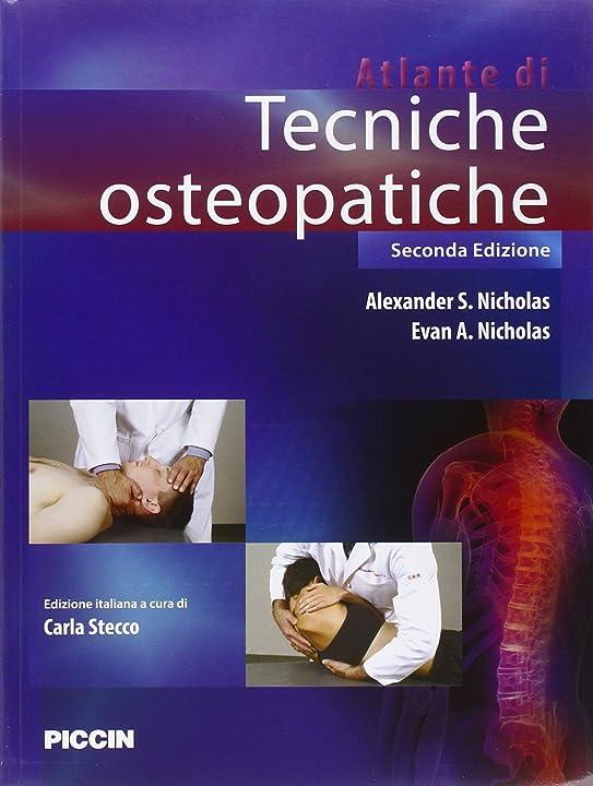 Atlante di tecniche osteopatiche (italiano) copertina flessibile 978-8829927289