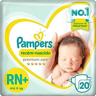 Fralda Pampers Premium Care 20 Unidades, RN+