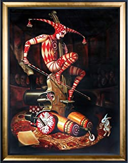 ArtistBe Agaric Flying Dutchman Reproduction Framed Oil Painting, 45.5
