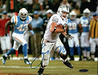 e98bae1b897 Zach Miller Signed 8X10 Photo Autograph Raiders vs. Chargers Auto UDA Upper  Deck