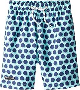 2b7c14291 Ralph Lauren Baby Traveler Polo Bear Swim Trunks (Infant) at Zappos.com
