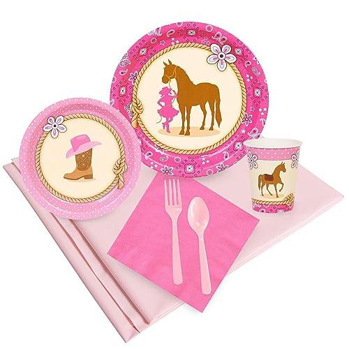 BirthdayExpress Western Cowgirl Party Supplies