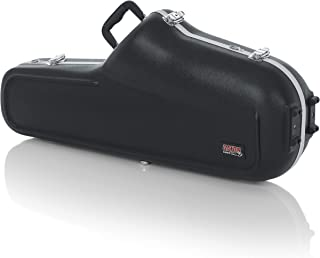 Gator Cases Lightweight Molded Tenor Saxophone Case with Locking Latch and Plush Lined Interior (GC-TENOR-SAX)