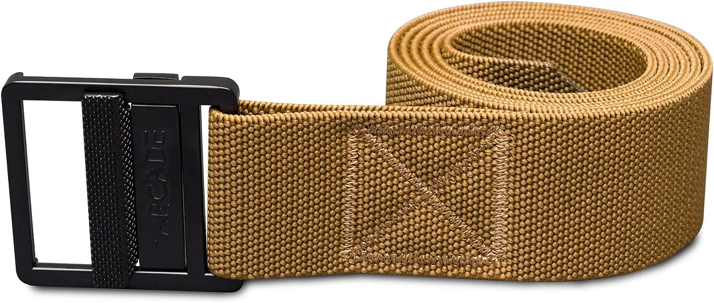 Arcade Belt Mens Utility Guide Belts Heavy Duty Stretch Webbing Non-Slip Buckle