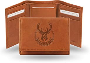 Rico Industries NBA Fan Shop Embossed Leather Trifold Wallet