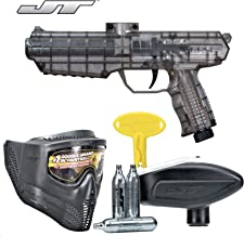 JT ER4 RTP .68Cal Paintball Kit Includes Guardian Goggle, 15G Co2 Jetts, Small Loader, Smoke
