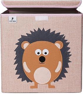 Boîte de rangement pour enfants avec couvercle Rangement pour jouets pour chambre d'enfant (33 x 33 x 33 cm) Rangement dan...