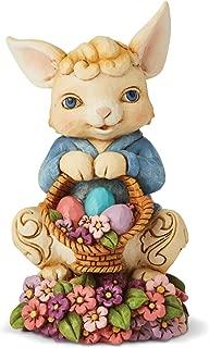 Enesco Jim Shore Heartwood Creek Pint Size Bunny with Basket