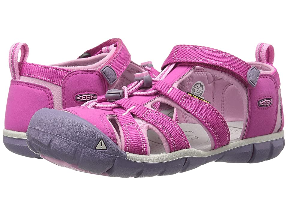 Keen Kids Seacamp II CNX (Little Kid/Big Kid) (Very Berry/Lilac Chiffon) Girls Shoes