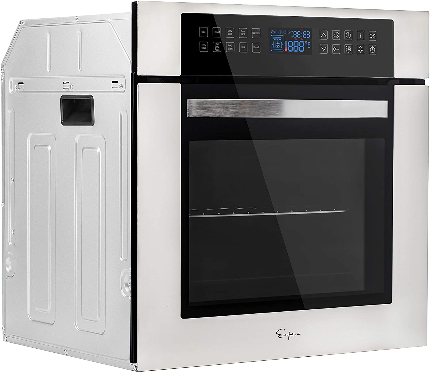 Empava 24 Inch Electric Single Austin Mall Wall 10 Oven Cooking De 2021 autumn and winter new Functions