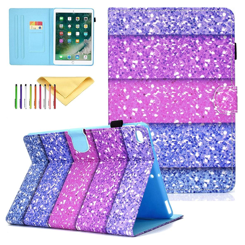 iPad Air 10.5 Case [3rd Gen] 2019, iPad Pro 10.5 case 2017, Cookk Slim Lightweight Smart Shell Stand Cover Kids Fit Apple iPad 10.5, [Auto Wake/Sleep], Color Sand