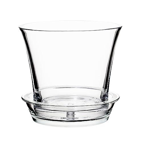 Glass Flower Pots: Amazon.com