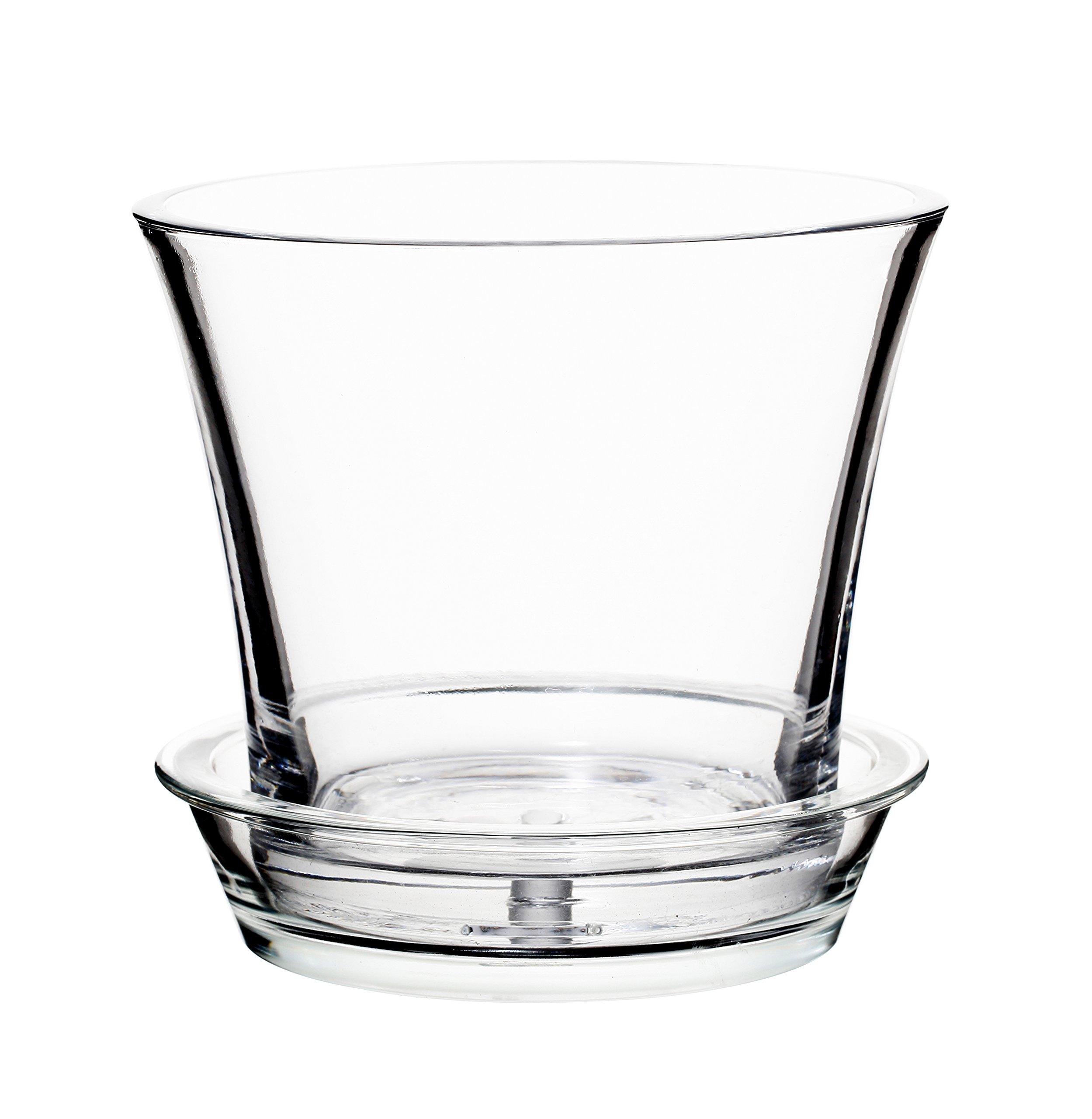 225 & Glass Flower Pots: Amazon.com