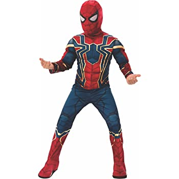 Avengers - Disfraz de Spiderman Iron Spider de Infinity Wars para ...