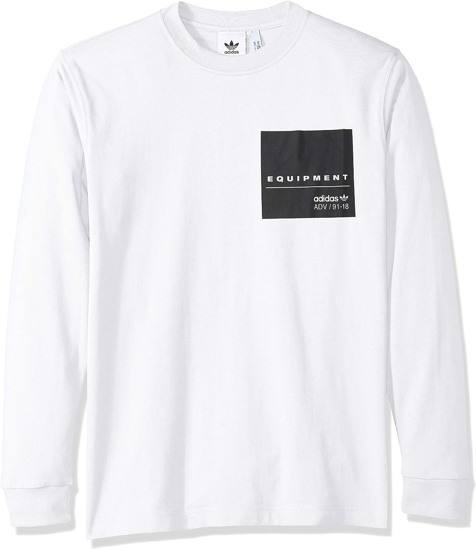 Adidas Originals Men's EQT Long Sleeve Graphic Tee