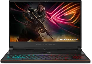 """ASUS ROG Zephyrus S Ultra Slim Gaming PC Laptop, 15.6"""" 144Hz IPS Type, Intel Core i7-8750H CPU, GeForce GTX 1070, 16GB DDR..."""