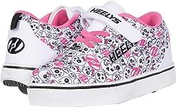 White/Black/Hot Pink/Skulls