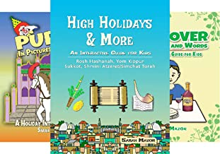 Jewish Holiday Interactive Books for Children (3 Book Series)