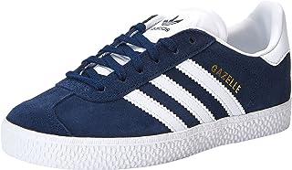 adidas Men's Gazelle Shoes, Blue (Collegiate Navy/Footwear White/Footwear White), 1 US