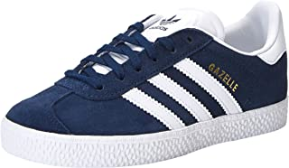 adidas Men's Gazelle Shoes, Blue (Collegiate Navy/Footwear White/Footwear White), 1 US