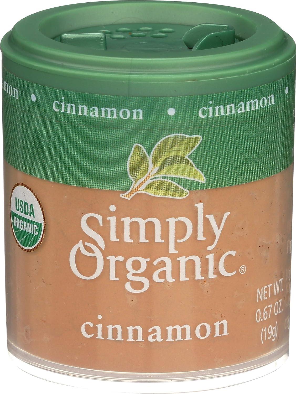 Simply Organic, Ground Cinnamon Organic, 0.67 Ounce