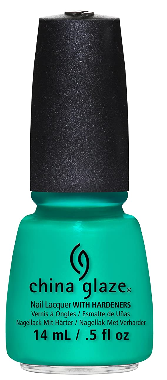 おとなしい関税徹底CHINA GLAZE Nail Lacquer Sunsational Keepin' It Teal (並行輸入品)