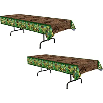 54 x 108 SG/_B01EEIBWP0/_US Fun Express Plastic Dinosaur Dig Tablecloth