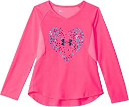 Under Armour Kids - Astro Dot Heart Long Sleeve (Little Kids)