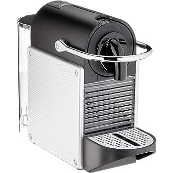 Krups Nespresso XN110B Krups Essenza Mini - Cafetera monodosis de cápsulas Nespresso, compacta, 19 bares, apagado automático, color gris (Pack Cápsulas bienvenida incluido): Amazon.es: Hogar