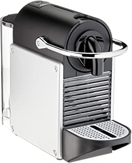 Nespresso De'Longhi Pixie EN124.S Cafetera monodosis cápsulas, 19 Bares, depósito Agua 0.7 L, Apagado automático, Plata, I...