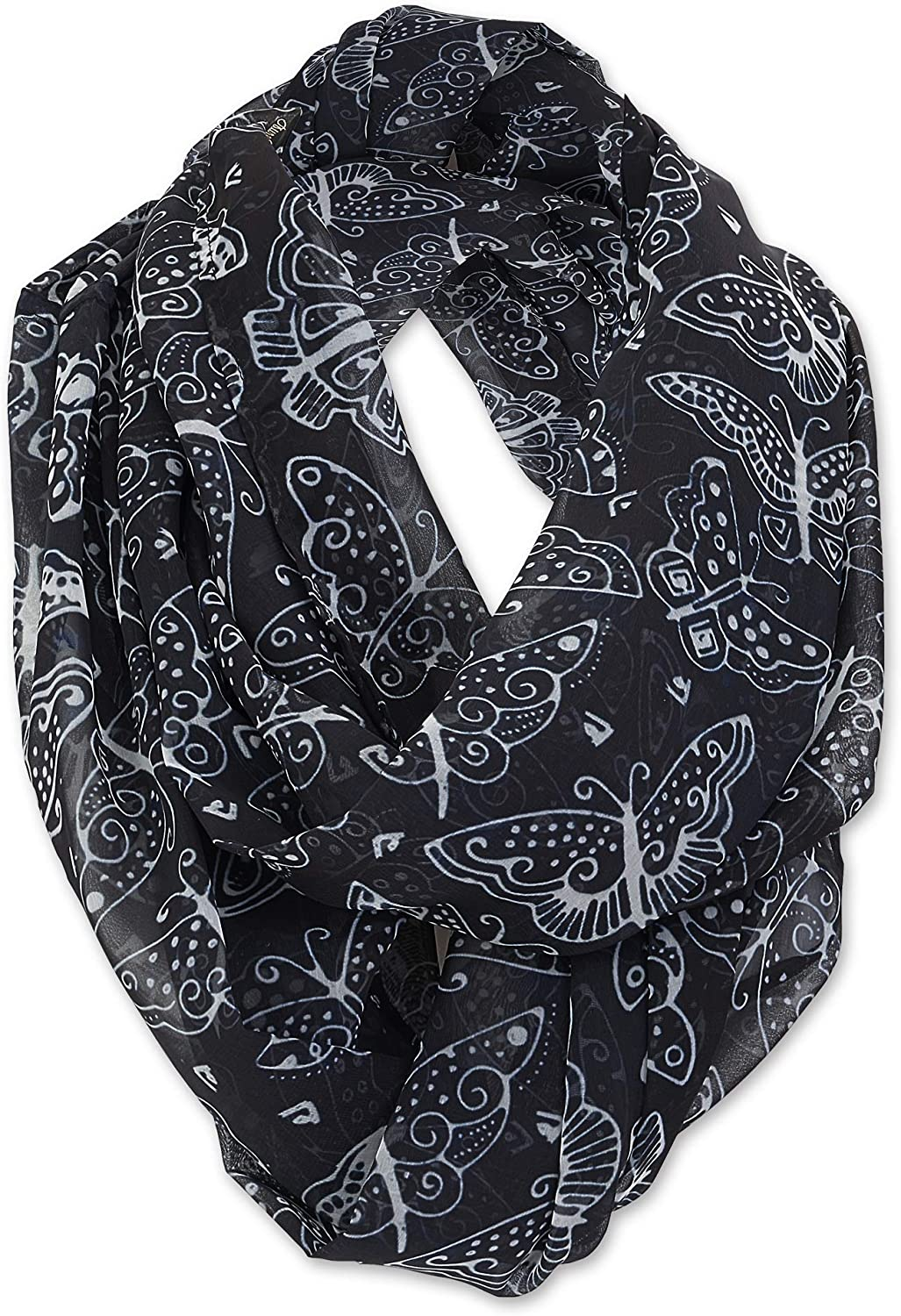 Laurel Burch Artistic Infinity Scarf Collection