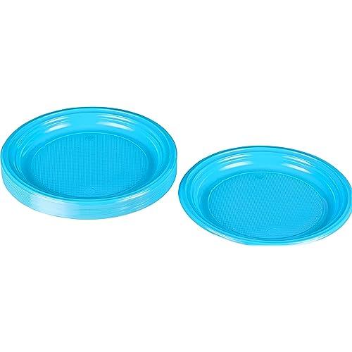 d=18cm 8er Pack dunkelblaue Partyteller,Pappteller-Einwegteller blau