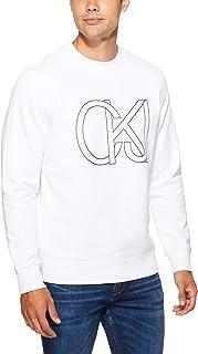 CALVIN KLEIN Jeans Men's Block Chest Print Sweatshirt