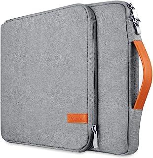 "Kogzzen 16 15.6 15.4 15 インチ ラップトップスリーブケース 防震 防水カバン PCインナーバッグ MacBook Pro 16""/15""/Surface Laptop 15""/Surface Book 2 15""/Dell XPS 15対応 15インチ用ノートパソコン ウルトラブック/タブレット/Chromebook/Dell/HP/Sony/Acer/Samsung/Lenovo/東芝/富士通 (グレー)"