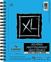 "Canson C400068372 XL Series Rough Mix Media, 7"" x 10"""