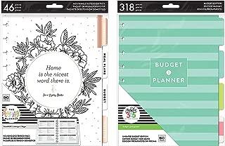 The Happy Planner Classic/Medium Home & Budget Extension Bundle (2 Pk)