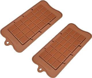 مجموعة من قطعتين من أغطية الطعام غير لاصقة من السليكون الممتاز غير لاصق من الدرجة الغذائية والشوكولاتة والحلوى ومكعب الثلج...