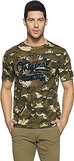 Lee Cooper Men's Printed Regular Fit T-Shirt