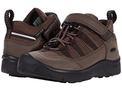 KEEN Kids Hikeport 2 Low WP (Toddler/Little Kid) (Coffee Bean) Boy