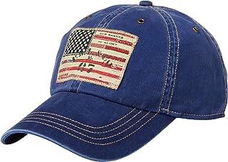 8de625e9 Ralph Lauren Polo Men`s Leather Strap Embroidered Chino Baseball Cap