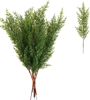 HUAESIN 8 Pcs 15 Inch Artificial Pine Needles Branches Christmas Pine Branches Needles for Christmas Holiday Home Decor