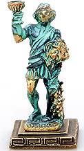 Zeus Poseidon Hephestus IconsGr 3 x Statua Miniatura Antica Greca a Mano in zamac Gli dei dellOlimpo