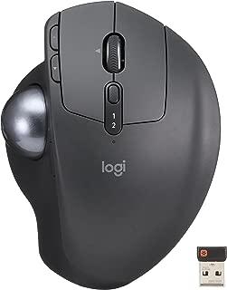 ロジクール ワイヤレスマウス トラックボール 無線 MX ERGO Unifying Bluetooth 8ボタン 高速充電式 MXTB1s ブラック 国内正規品 2年間無償保証