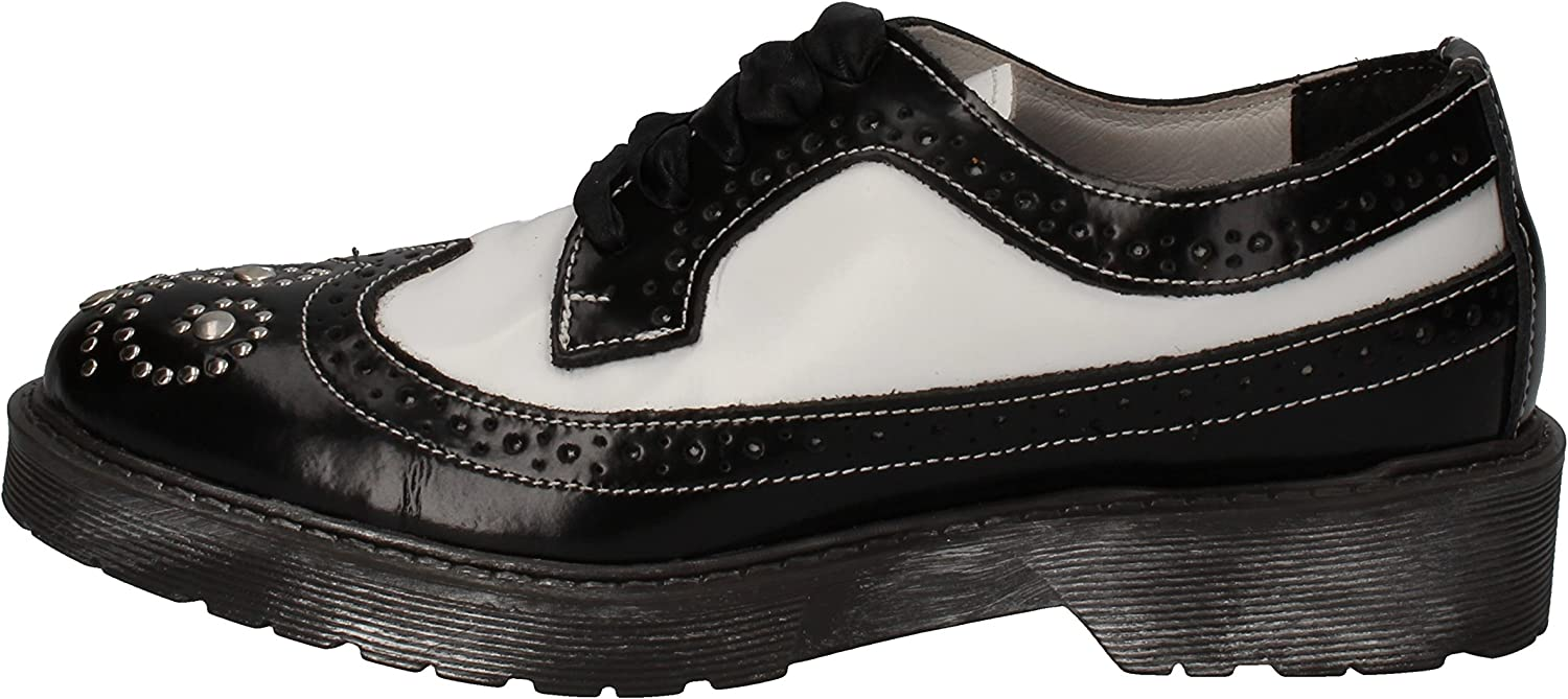 Beverly Hills Polo Club Oxfords-shoes Womens Leather Black