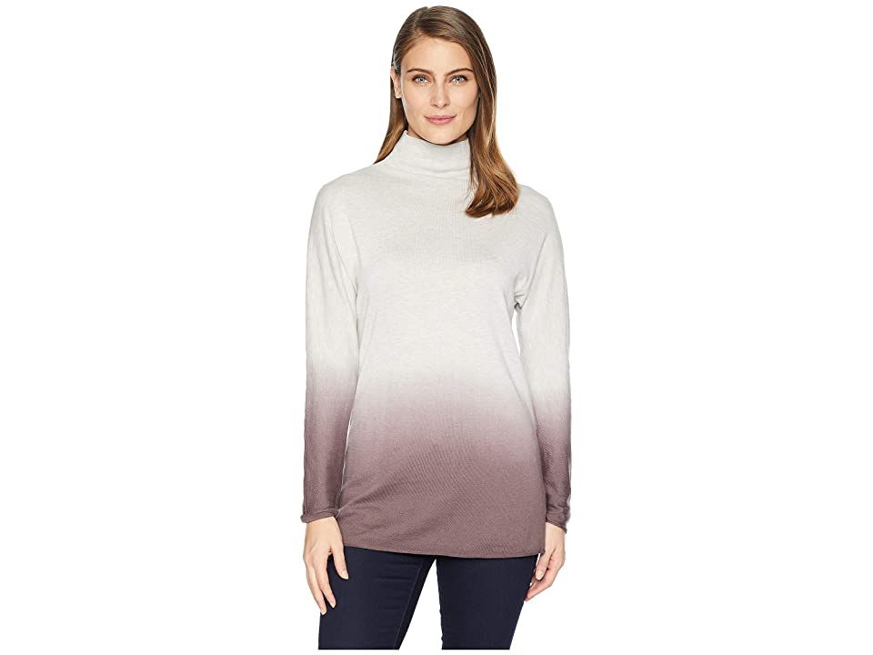 NIC+ZOE Traveler Turtleneck (Plum) Women