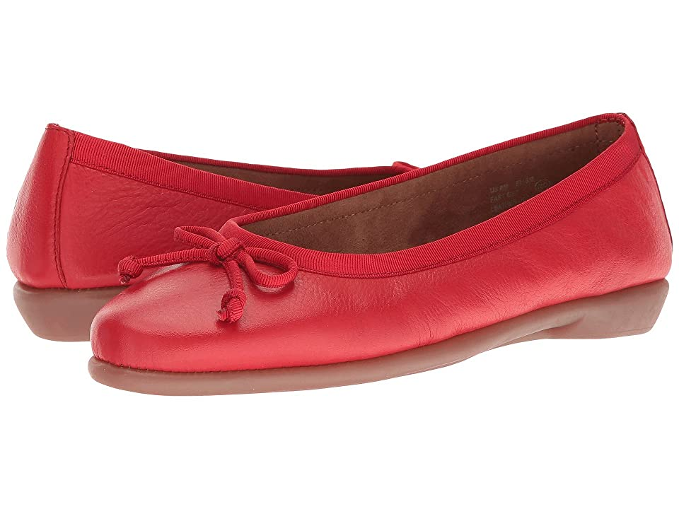 Aerosoles Fast Bet (Red Leather) Women