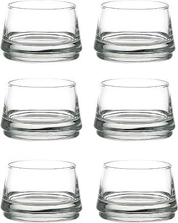 Preisvergleich für Durobor 6er Gläserset Vertigo 12 cl Amuse Bouche Ø 80 mm, H 53 mm, Dessert-Gläser, Appetizer, Vorspeise im Glas